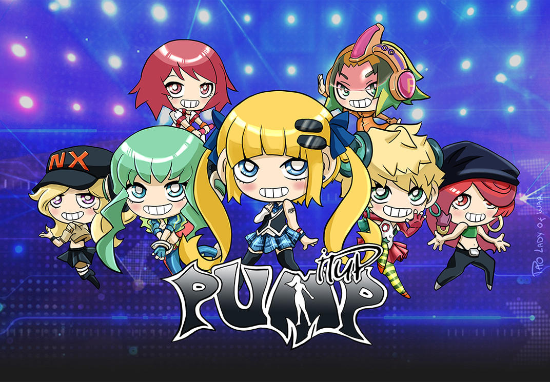 Pump It Up Chibis Prime By Kei111 On Deviantart
