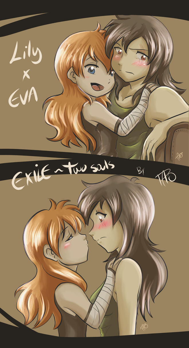 Exile - Eva and Lily love by kei111