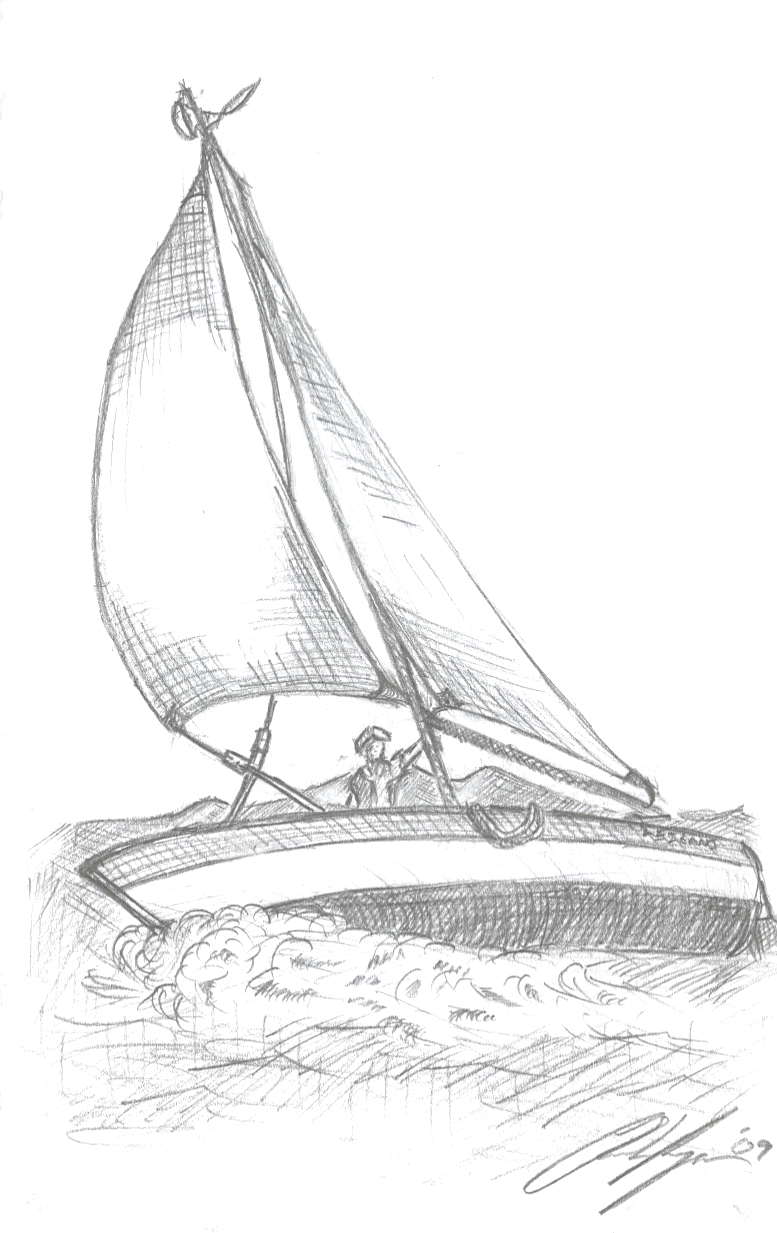 Sailboat Sketch by ChaHee on DeviantArt