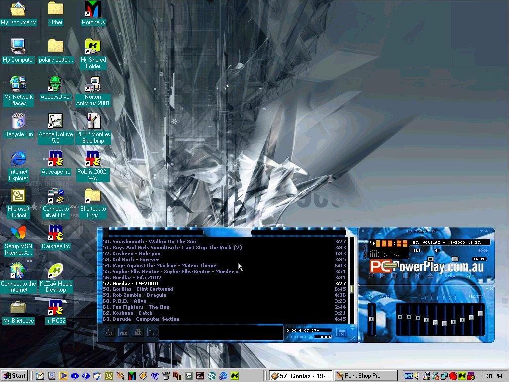 phj34r my desktop by bigchris