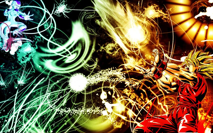 Goku Vs Frieza By RupertRock