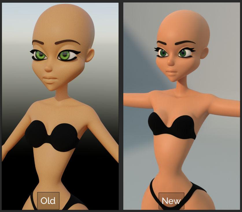 WIP: Winx Club Model