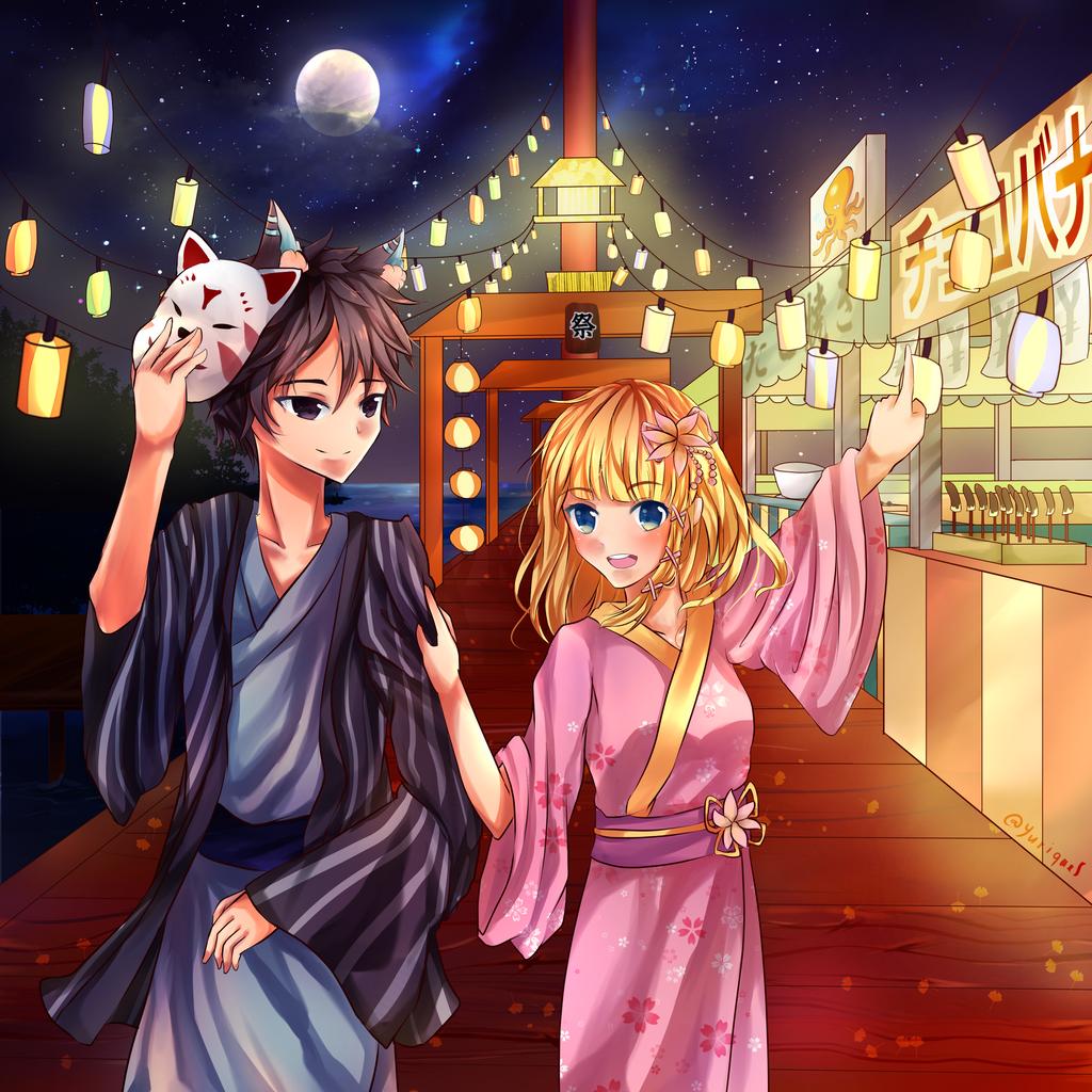 Anime Summer Festival Background | www.pixshark.com ...