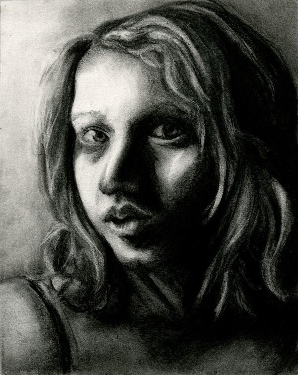 Self Portrait--Traditional by Melaninny