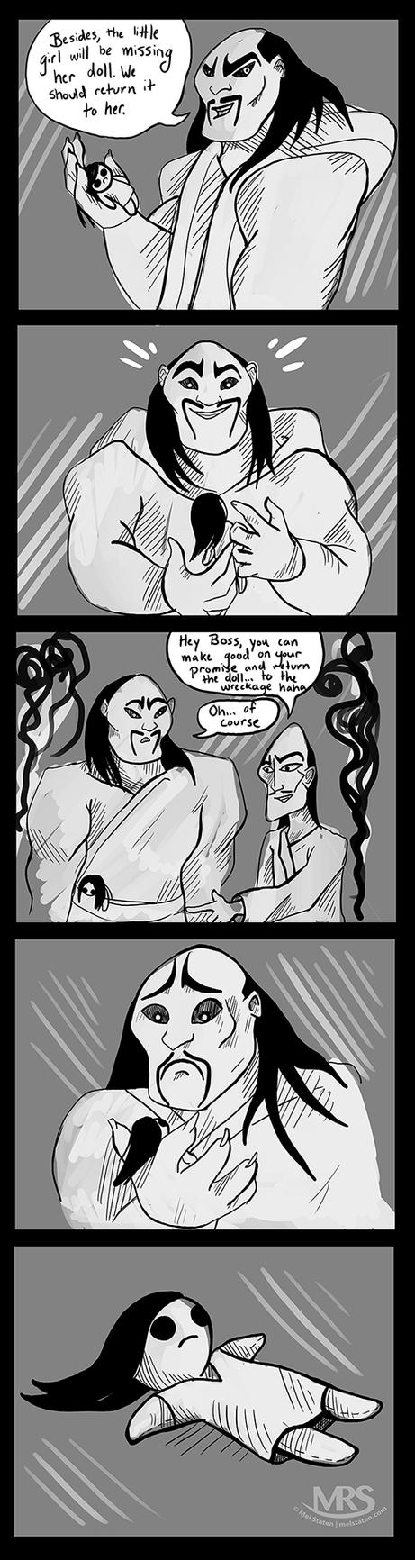 Mulan-comic by Melaninny
