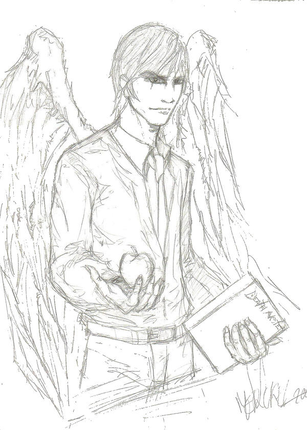 [Fan art] Chewco Raito_Death_Note_by_chewco