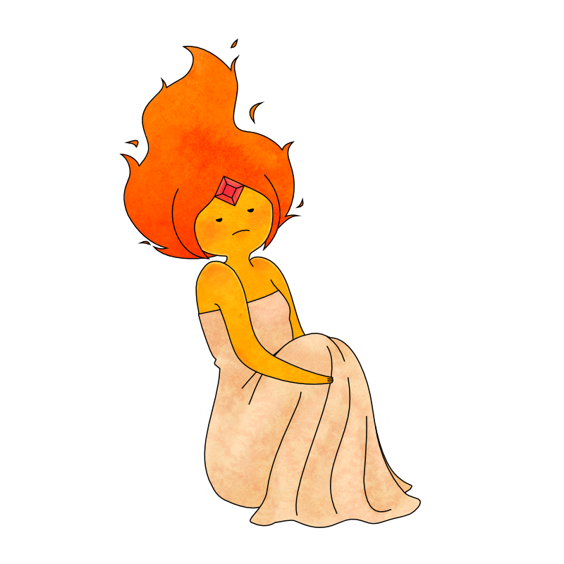 Flame Princess by jerkmilk