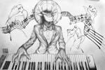 Killerblood Playing Piano by daniel4132