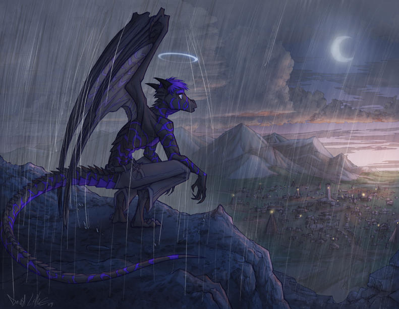 Blue dragon mature sinew