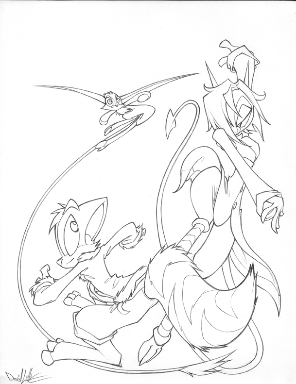 Line Art Poster : Poster line art by dreamkeepers on deviantart