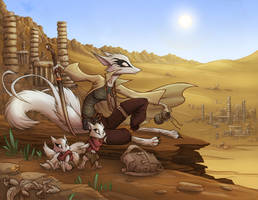 Desert Vista by Dreamkeepers