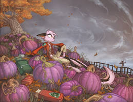 Patch of Autumn by Dreamkeepers