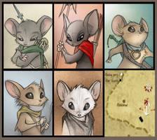 MouseGuard Portraits