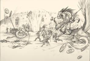 Anduruna Wars Past by Dreamkeepers