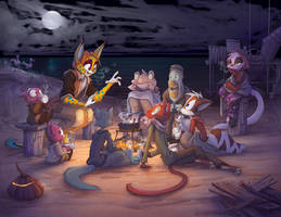 Tales by Firelight by Dreamkeepers