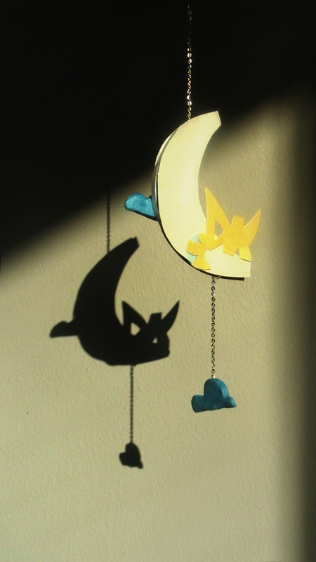 DK Paper Moon Ornament by Dreamkeepers
