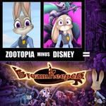 Zootopia Minus Disney
