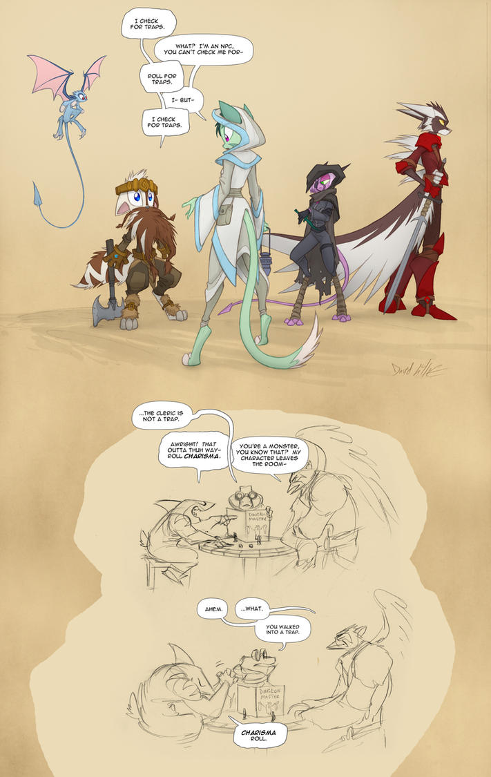 DnD Character Roleplay by Dreamkeepers