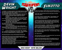 Tournament Match 29: Devin vs Sukotto by Dreamkeepers