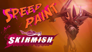 Speed Paint- Vi SKIRMISH card side 2 by Dreamkeepers
