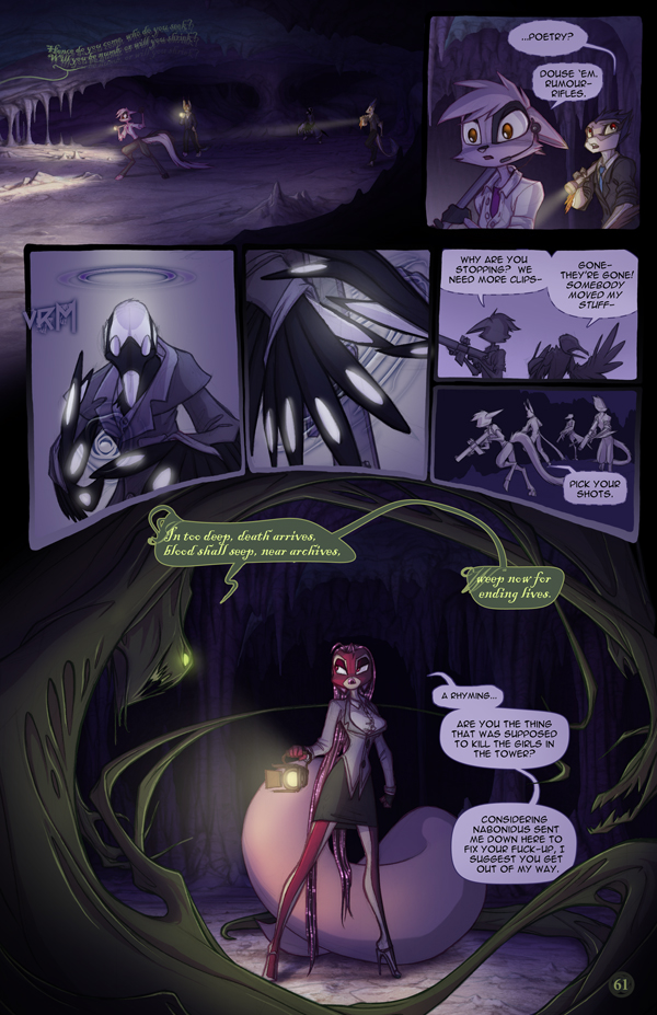 Dreamkeepers Saga page 379 by Dreamkeepers