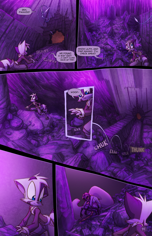 Dreamkeepers Saga page 409 by Dreamkeepers