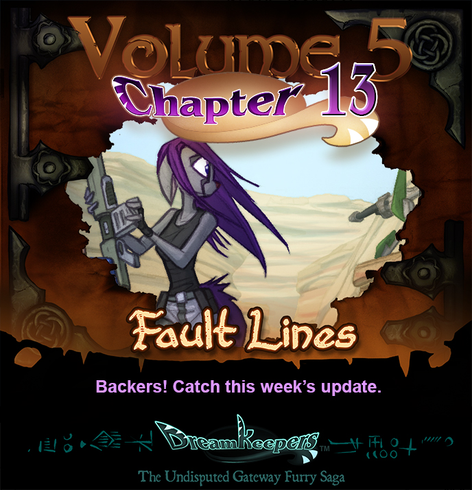 Volume 5 Page 18 Update Announcement by Dreamkeepers