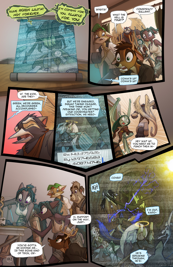 Dreamkeepers Saga page 420 by Dreamkeepers