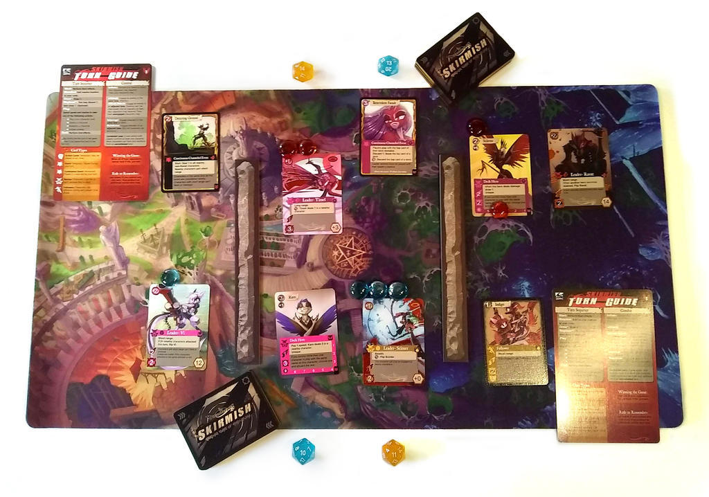 Skirmish Table Setup by Dreamkeepers