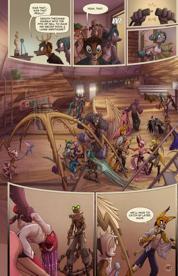 Dreamkeepers Saga page 425 by Dreamkeepers