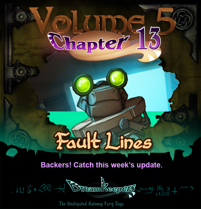 Volume 5 page 35 Update Announcement by Dreamkeepers