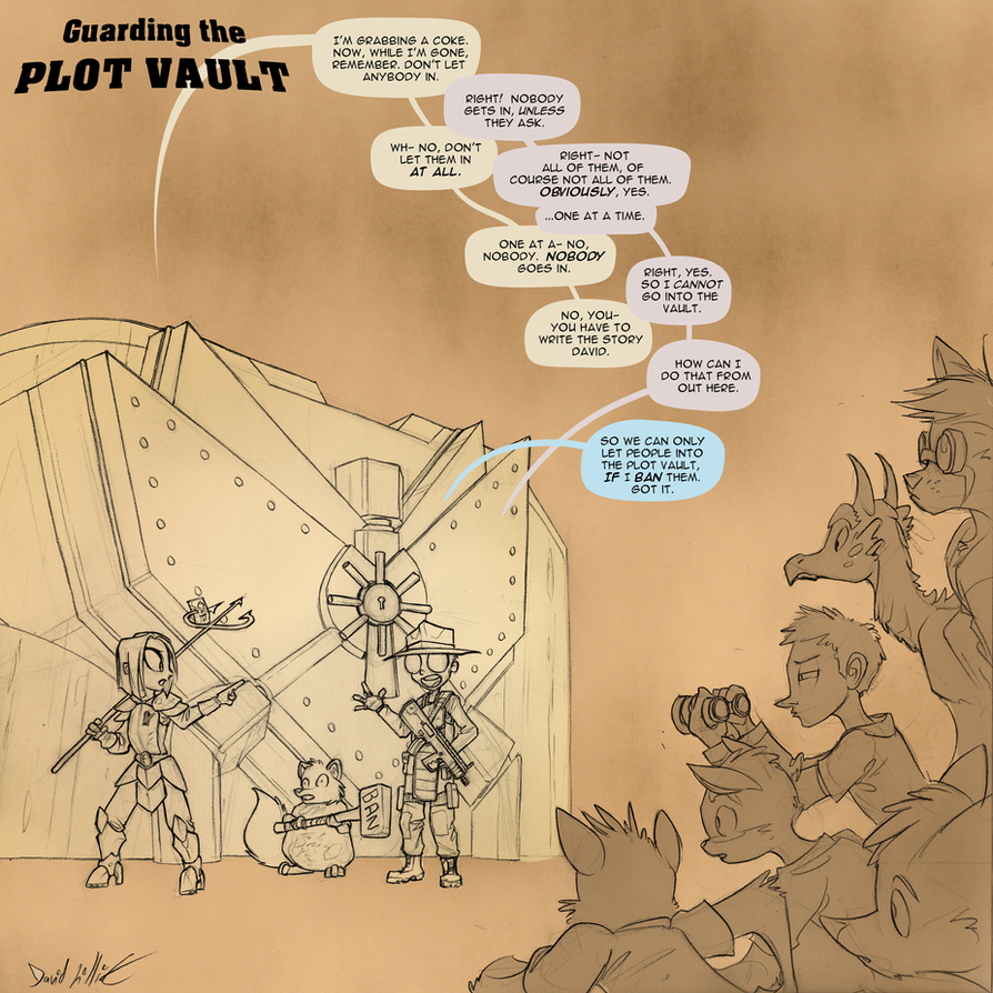 Plot Vault Gaurdians by Dreamkeepers
