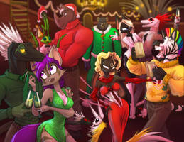 Wayward Holiday Party by Dreamkeepers