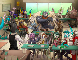 Sign Language Classroom by Dreamkeepers