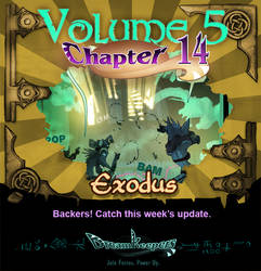 Volume 5 page 56 Update Announcement by Dreamkeepers