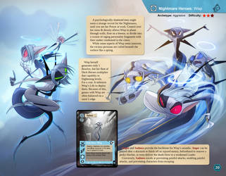 Skirmish Strategy Guide sample page Wisp 1 by Dreamkeepers