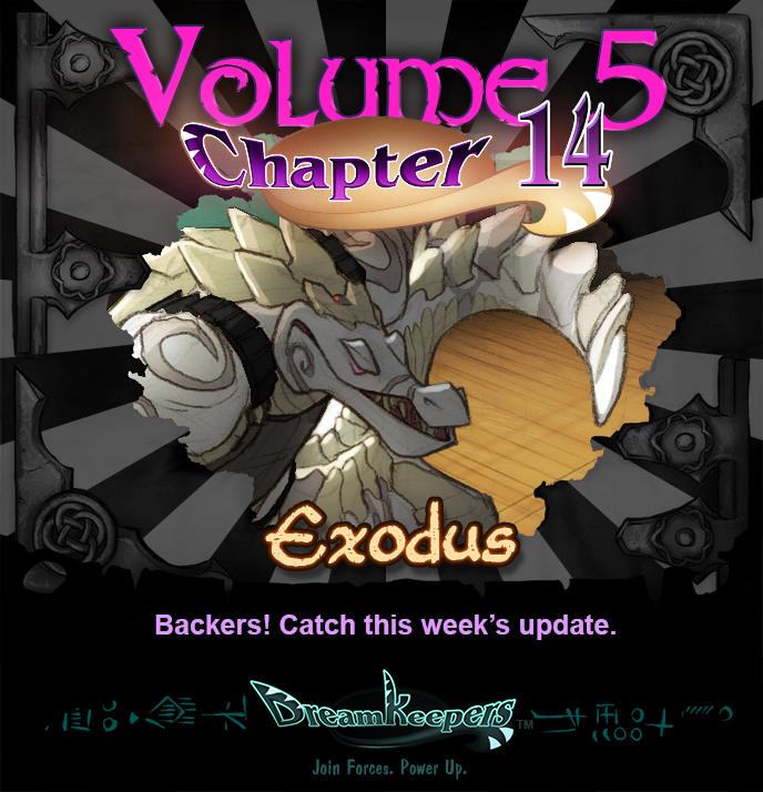 Volume 5 page 59 Update Announcement by Dreamkeepers