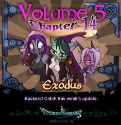 Volume 5 page 62 Update Announcement by Dreamkeepers
