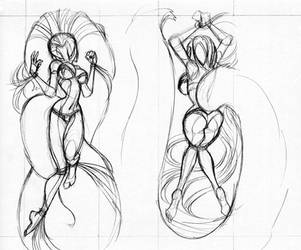 Sketchy Boobies by Dreamkeepers