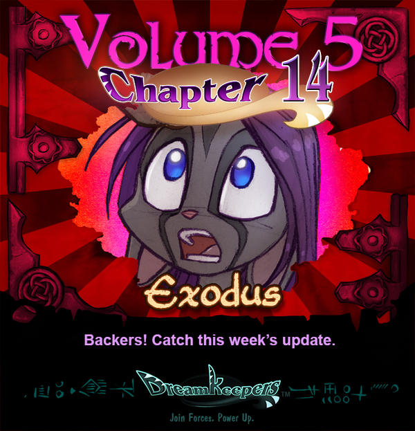 Volume 5 page 63 Update Announcement by Dreamkeepers