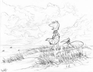 Plush Drawing Mace Horizon by Dreamkeepers