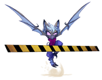 Prelude 447 Leaping Vanth cutout by Dreamkeepers