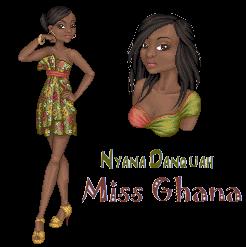 Nyana Danquah Miss Ghana by phoenix1784