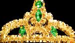 Princess Tiara - Emerald
