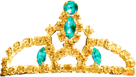 Princess Tiara - Aquamarine