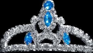 Silver Tiara - Blue Topaz by Dori-Stock