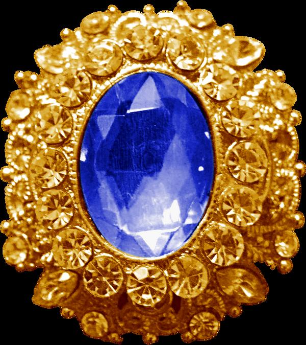 Gold Pendant - Sapphire by Dori-Stock