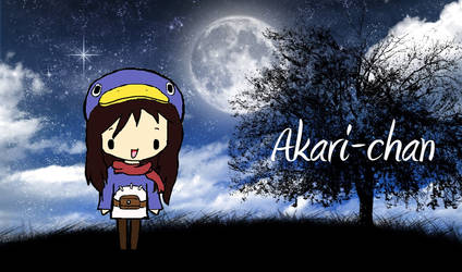 Akari-chan by janelleLOVESudon
