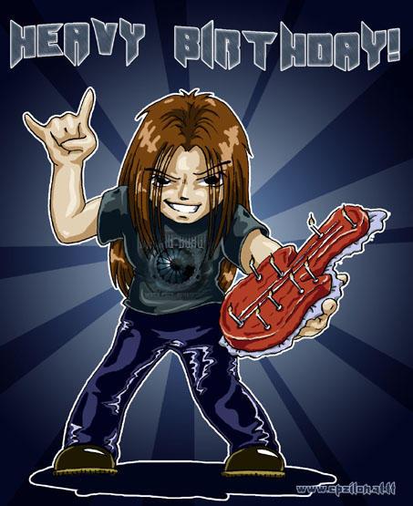 Happy Birthday Metal