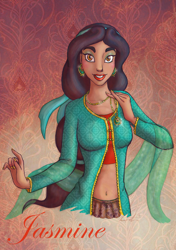 Jasmine Print by dorianimeyaoilover